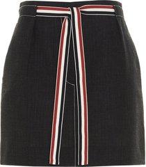 rwb stripes skirt