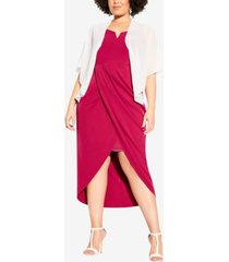 city chic women's trendy plus size multiway shrug