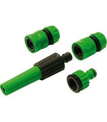 conjunto de irrigador ajustável para mangueira trapp, 4 peças - dy8025