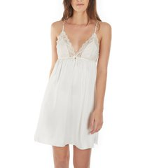 pyjama's / nachthemden selmark babydoll majonia wedding ivory