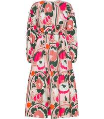 vigvami karuselli dress jurk knielengte multi/patroon marimekko