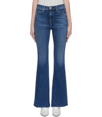 'bella' split cuff flared jeans
