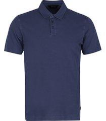 z zegna cotton short-sleeve polo shirt