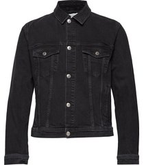 laust jacket 11356 jeansjacka denimjacka svart samsøe samsøe