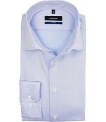 seidensticker strijkvrij shirt lichtblauw twill