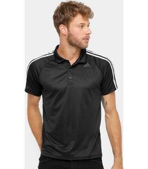 camisa polo adidas d2m 3s masculina