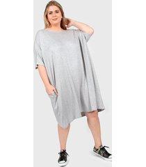 vestido gris vindaloo