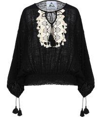 pearl & caviar blouses