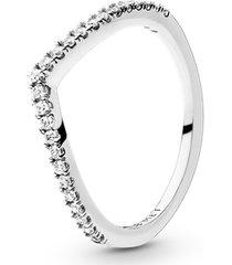 anel chevron brilhante