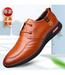 hombres zapatos oxford suaves zapato para hombre