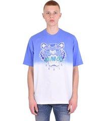 'dip dye tiger' oversized t-shirt