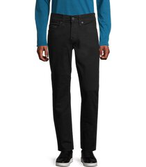 geno no flap relaxed slim jeans