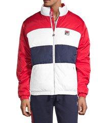 neo colorblock puffer jacket