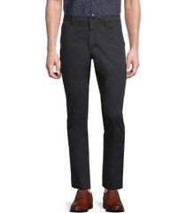 john varvatos star u.s.a. men's smithy zip pocket flight pants - black - size 31