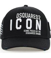 dsquared2 be icon baseball cap