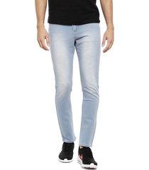jeans ellus medio celeste - calce straight fit