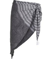 heidi klum swim sarongs