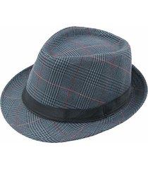 cappellino da baseball per parasole per esterno da uomo in stile britannico vintage da gentiluomo panama fedora