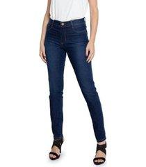 calça jeans sawary skinny hot pants feminina
