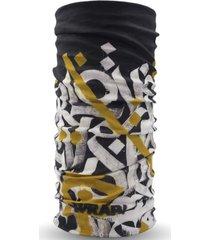 bandana multifuncional graffiti negro wild wrap