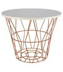 mesa de canto / lateral para vasos, objetos, decoraçáo - lojas carisma