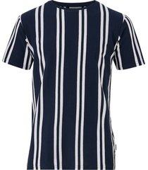 t-shirt striped piqué tee s/s