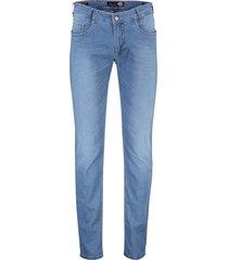 gardeur jeans bill-6 5-pocket stretch blauw