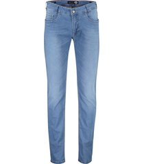 gardeur jeans bill-6 5-pocket stretch blauw