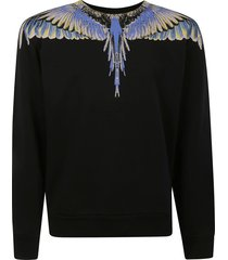 marcelo burlon wings regular crewneck sweatshirt