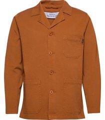 jacket leksand overshirts oranje dedicated