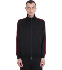 south2 west8 sweatshirt in black polyester