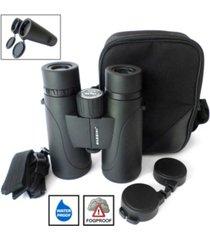 cassini 10 power x 50mm waterproof, fogproof bak4 roof prism binocular and case
