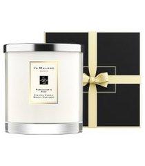 vela perfumada pomegranate noir scented candle 2,1 kg - branco