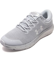 tenis running gris under armour charged bandit 5