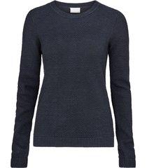 tröja vichassa l/s knit top