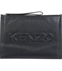 kenzo pouch with logo