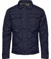 jjmalbert quilt jacket kviltad jacka blå jack & j s
