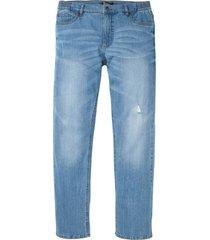 jeans elasticizzati con taglio comfort regular fit straight (blu) - bpc bonprix collection