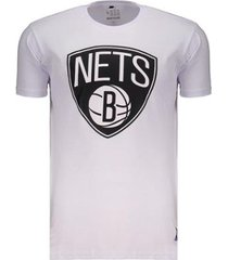 camiseta nba brooklyn nets escudo masculina