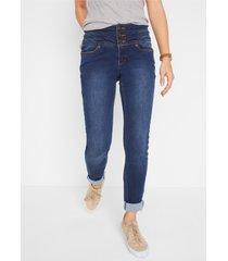 corrigerende stretch jeans voor platte buik, slim