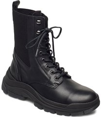 maia 7 shoes boots ankle boots ankle boot - flat svart marc o'polo