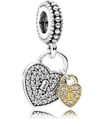 charm pendente love locks