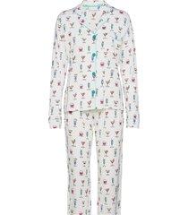pyjama long pyjamas vit pj salvage