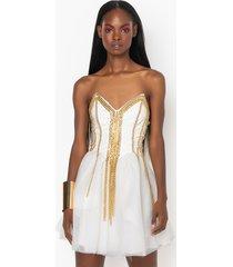 akira so rad corset dress with chains