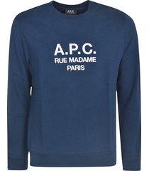 a.p.c. ruffus sweatshirt