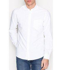 only & sons onsalvaro ls oxford shirt noos t-shirts & linnen vit