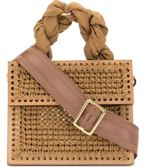 0711 camel small copacabana purse - brown