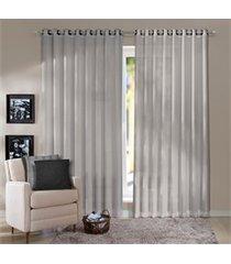 cortina em poliéster havana cru 400x230cm