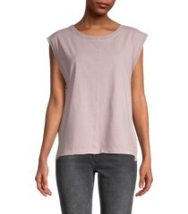 free people women's kasee muscle top - soda lime - size l