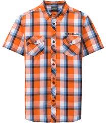 camicia a maniche corte slim fit (arancione) - rainbow